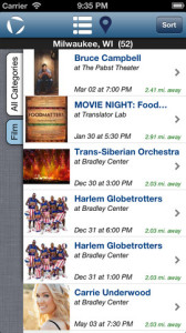 MEO Events: A Free Mobile App for Events