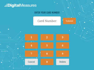 Digital Measures Screenshot Card Number